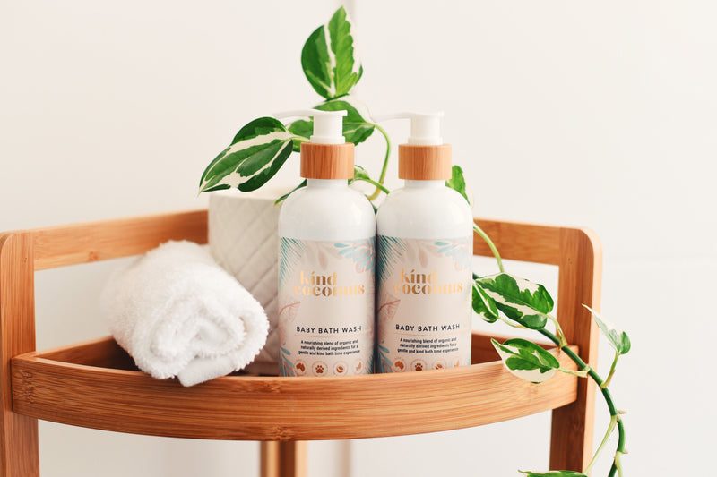 Organic Natural Baby Bath Wash | Made in Australia Kind Coconuts