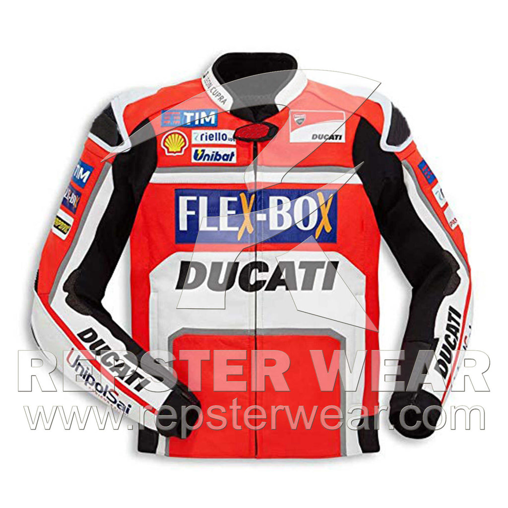 Ducati Motorbike Racing Leather Jacket MotoGp 2017