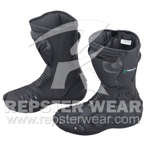 Monster Motorbike Racing Leather Boots