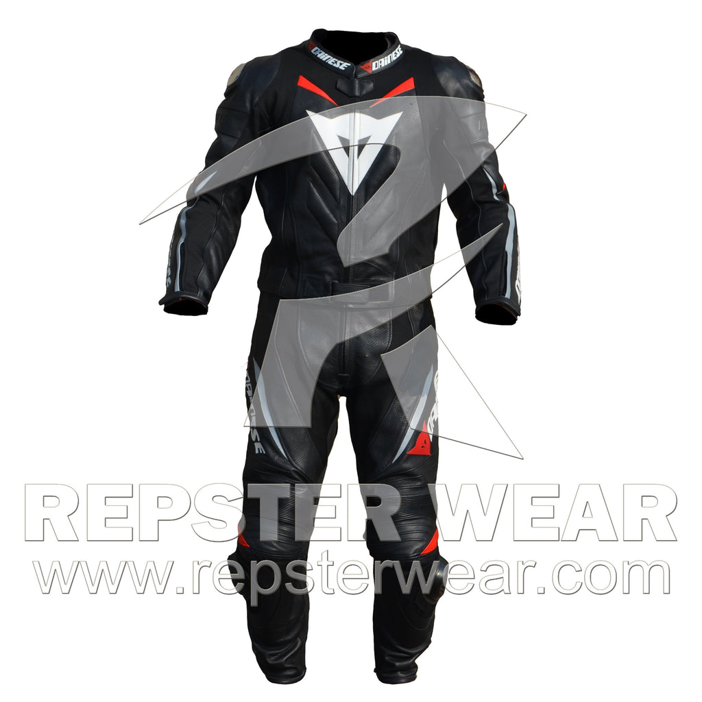 Superman Motorbike Racing Leather Suit For Men | Women