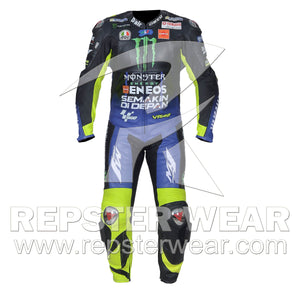 Valentino Rossi Motorbike Racing Leather Suit 2019