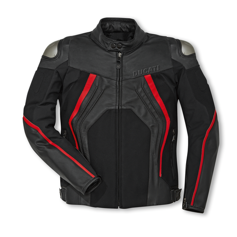 Fighter C1 - Leather-fabric jacket