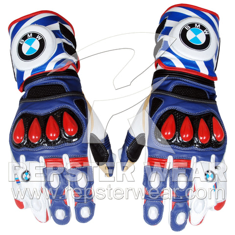 bmw motorrad motorbike racing leather gloves