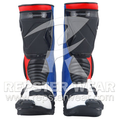 Go Pro Motorbike Racing Leather Boots