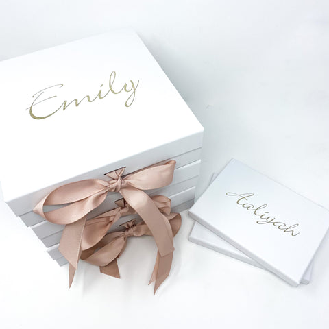 Personalised Bridal Party Proposal Giftbox