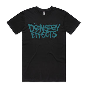 Doomsday Logo Unisex Tee (Teal) | Doomsday Guitar Effects Pedals Handmade Sunshine Coast Australia