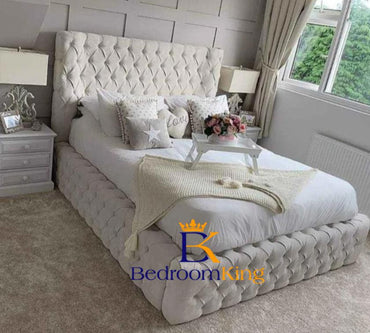 Ryla Luxury Chesterfield Bed Frame Exclusive to Bedroomking