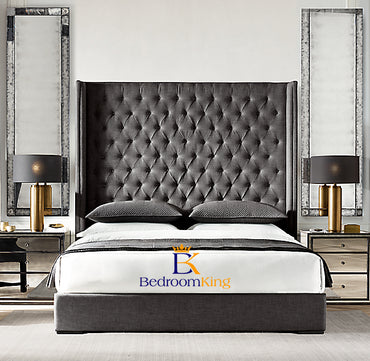 "Canterbury Bespoke Bed Frame with 70"" Headboard exclusive to Bedroomking"