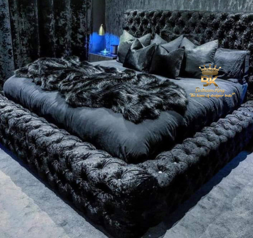 Midnight Royal Ambassador Bed Frame Bedroomking Exclusive Item