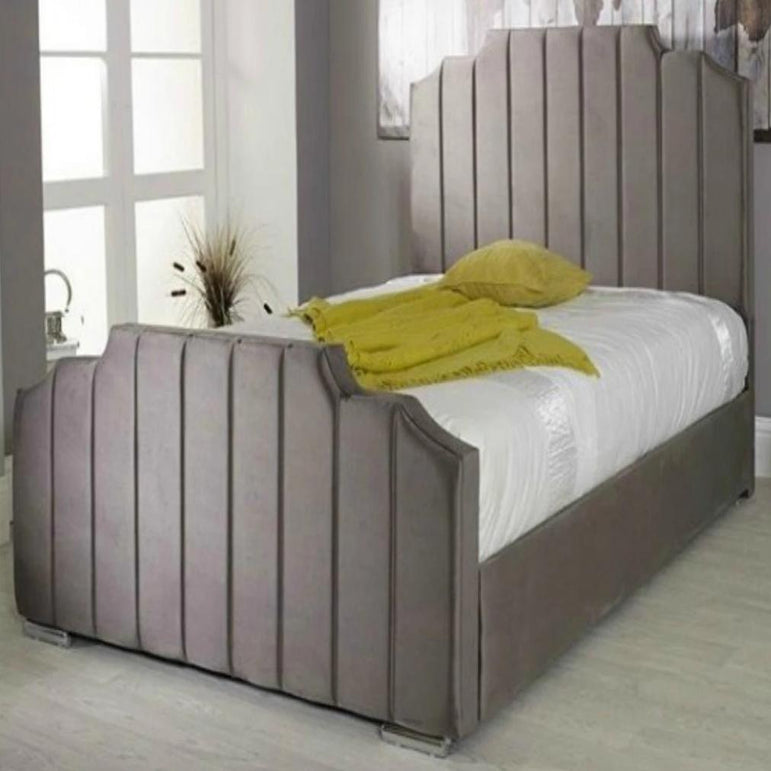 Sofitel Art Deco Panel Bed Frame Exclusive to Bedroomking