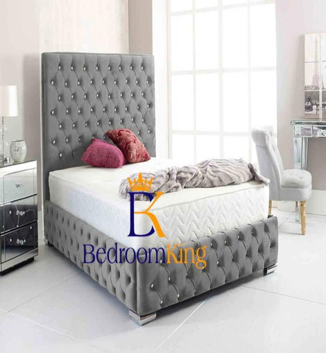 Victoria Chesterfield Bed Frame Bedroomking Exclusive Item