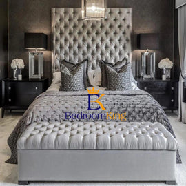"Duchess Grandeur Bed Frame with 70"" Headboard Exclusive to Bedroomking"