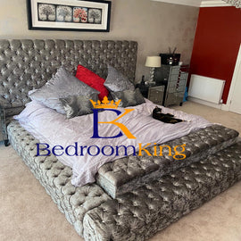 Sultan Storage Ambassador Chesterfield Bed Frame Bedroomking Exclusive Item