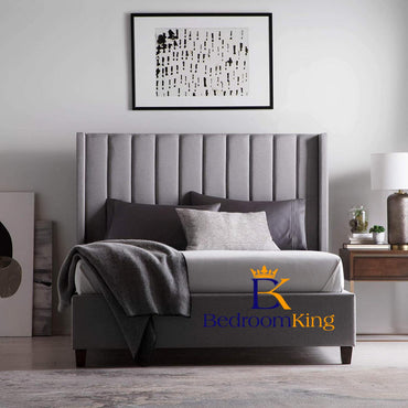 Duke Wingback Bedframe Available with ottoman or divan storage