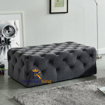 Jemima Chesterfield Pouffe Footstool