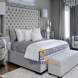 Hilton Deluxe Wingback Bed Frame