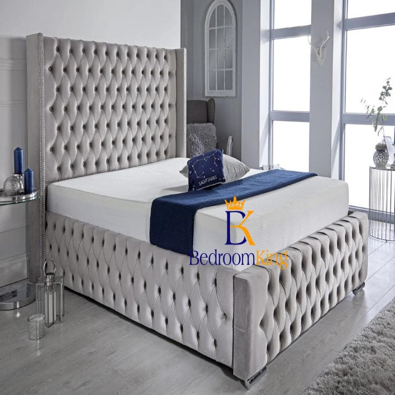 Windsor Spanish Upholstered Bed Frame