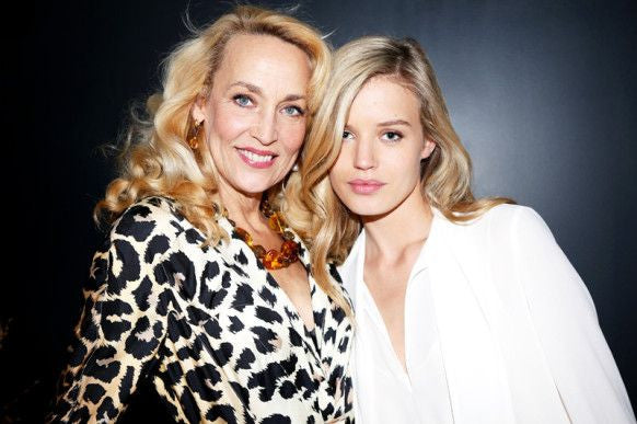 We love ..... Jerry Hall and Georgia-May Jagger