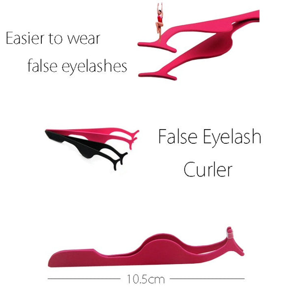 False Eyelash Extension Applicator and Remover