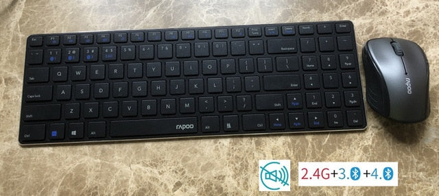 Original Rapoo Keyboard and Mouse Set