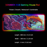 RGB Lighting Gaming Mousepad