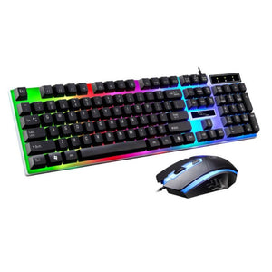 Ergonomic Gaming Keyboard & Mouse Kit