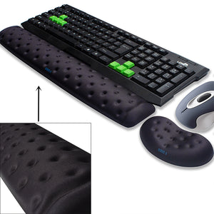 Memory Foam Ergonomic Pad for Mouse & Keyboard