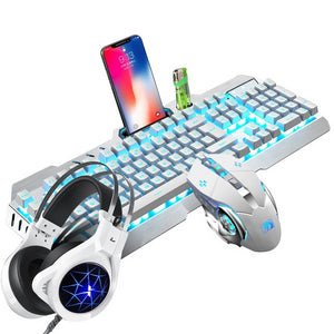 TAOXIA Mechanical Keyboard & Headset & Mouse Set