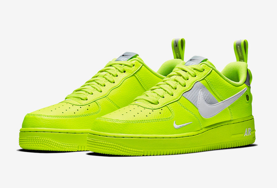 "NIKE AIR FORCE 1 UTILITY ""VOLT"""