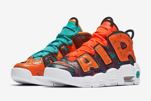 "NIKE AIR MORE UPTEMPO GS ""WHAT THE 90S"""