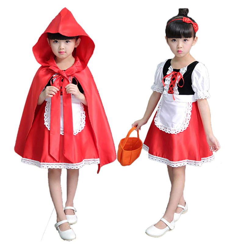 Little Red Riding Hood Cosplay costume CC4343