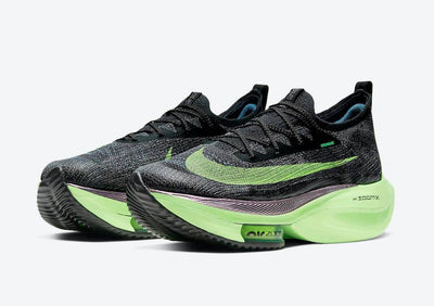 "Nike Air Zoom Alphafly NEXT% ""Lime Blast"""