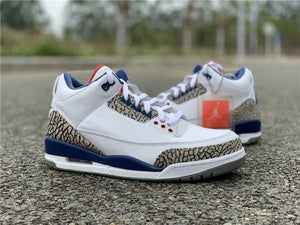 JORDAN 3 RETRO TRUE BLUE