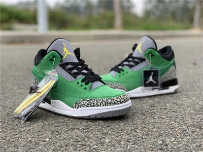 AIR JORDAN 3 OREGON DUCKS