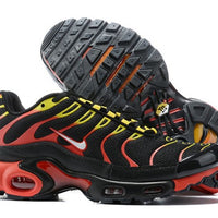 "NIKE AIR MAX PLUS TN ""BLACK/WHITE/HABANERO RED/YELLOW"" / 9270-001"