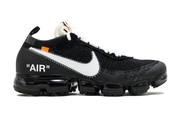 "OFF-WHITE X NIKE AIR VAPORMAX ""BLACK/WHITE-CLEAR"""
