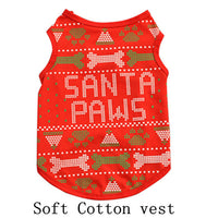 Funny pet costumes cat dog N.5 (Christmas5)