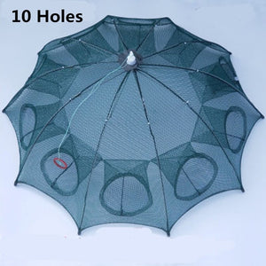 "Automatic Foldable Fishing Net Trap ""6/8/12/16 Holes"""