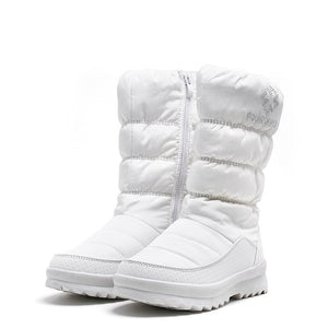 Snow boots women zipper C5410