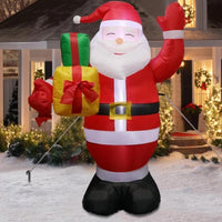 "Santa Claus & Snow Man Model X22 ""Size 150cm"""