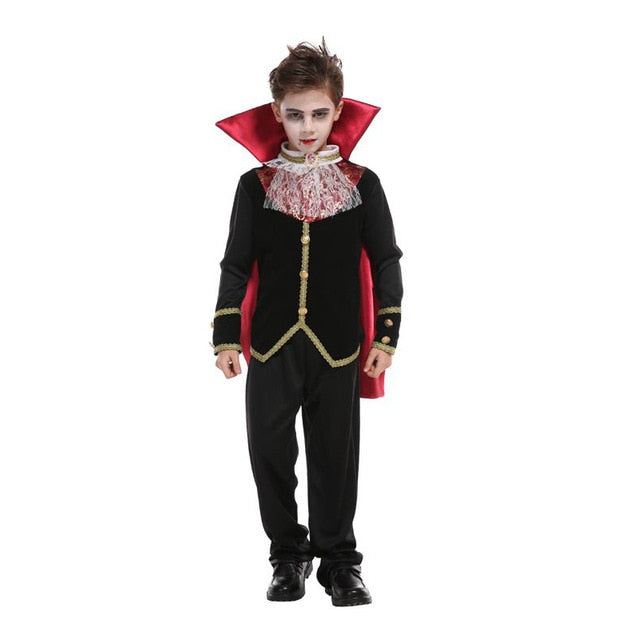 Prince Vampire Cosplay Costume (Carnival Party Halloween Kids) CC5089