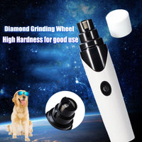 Chargeable pet nail clipper C8484