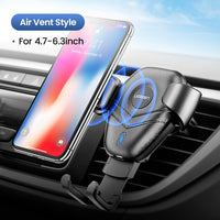 Wireless Car Phone Charger SS2091