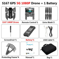 GPS Drone With Camera 5G RC Quadcopter DD167