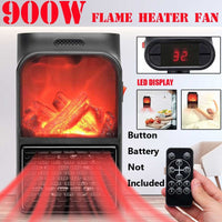 900W Mini Electric Heater Air H19