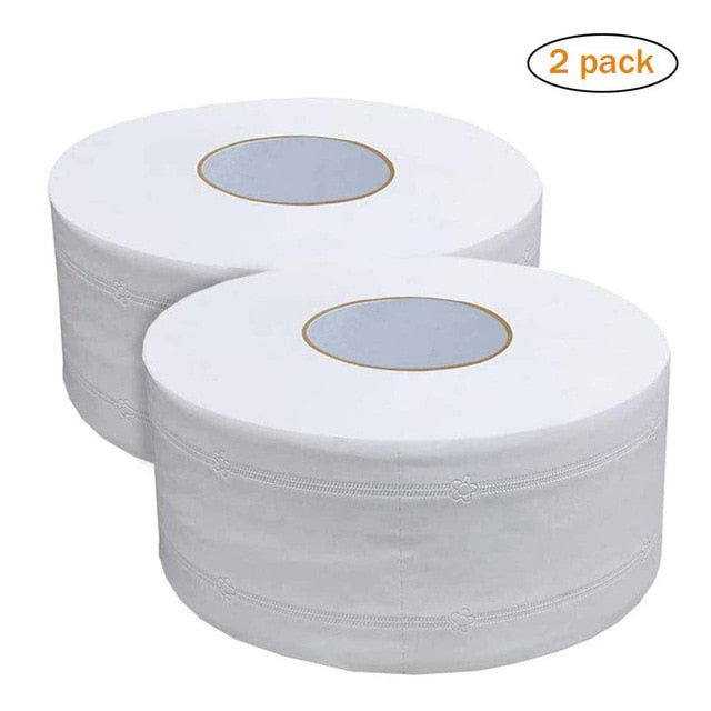 2 Rolls Toilet Tissue (Jumbo Set)