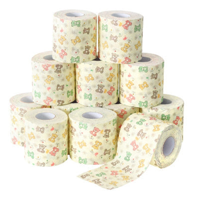 12PCS Household Bathroom Toilet Paper Napkins