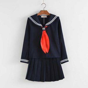 Uniform Skirts Sweater Cosplay Costume CC3320