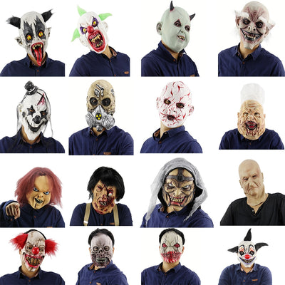 Halloween Horrible Clown Masks H4334