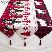 "Cotton Embroidered Christmas X101 Table ""Size 180*35cm"""